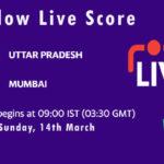 UP vs MUM Live Score, Final, Vijay Hazare Trophy, 2021, UP vs MUM Dream11 Today Match