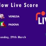 VEN vs PAD Live Score, ECS Italy, Venice, 2021, VEN vs PAD Scorecard Today