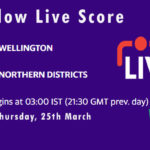 WEL vs NK Live Score, Plunket Shield 2020-21, WEL vs NK Scorecard Today