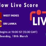 WI vs SL Live Score, 1st ODI, Sri Lanka tour of West Indies, 2021, WI vs SL Dream11 Today Match