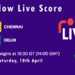 CSK vs DC Live Score, IPL 2021, CSK vs DC Scorecard Today, CSK vs DC Dream11 Team Prediction