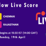 CSK vs RR Live Score, IPL 2021, CSK vs RR Scorecard Today, CSK vs RR Dream11 Team Prediction