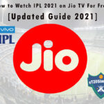 How to Watch IPL 2021 on Jio TV For Free