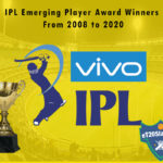 IPL Emerging Player Award Winners From 2008 to 2020