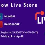 MI vs RCB Live Score, IPL 2021, MI vs RCB Scorecard Today, MI vs RCB Dream11 Team Prediction