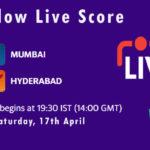 MI vs SRH Live Score, IPL 2021, MI vs SRH Scorecard Today, MI vs SRH Dream11 Team Prediction