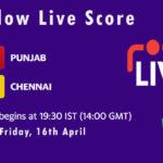 PBKS vs CSK Live Score, IPL 2021, PBKS vs CSK Scorecard Today, PBKS vs CSK Dream11 Team Prediction