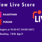 RR vs PBKS Live Score, IPL 2021, RR vs PBKS Scorecard Today, RR vs PBKS Dream11 Team Prediction