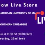 AUM vs SOC Live Score, ECS Malta 2021, AUM vs SOC Playing XIs
