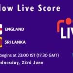 ENG vs SL Live Score, 1st T20I, Sri Lanka tour of England, 2021, ENG vs SL Playing XIs