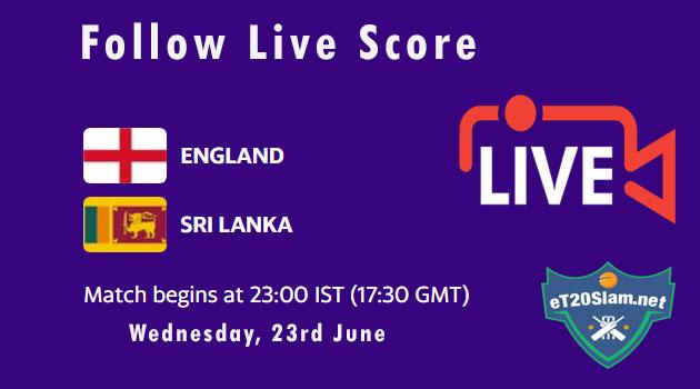 ENG vs SL Live Score, 1st T20I, Sri Lanka tour of England ...