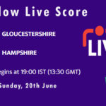 GLO vs HAM Live Score, T20 Blast, 2021, GLO vs HAM Playing XIs