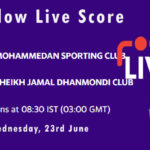 MSC vs SJDC Live Score, Dhaka Premier League 2021, MSC vs SJDC Playing XIs