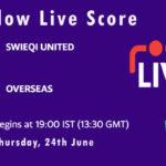 SWU vs OVR Live Score, ECS Malta 2021, SWU vs OVR Playing XIs